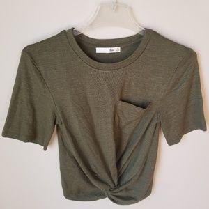 Short Sleeve Crop Top